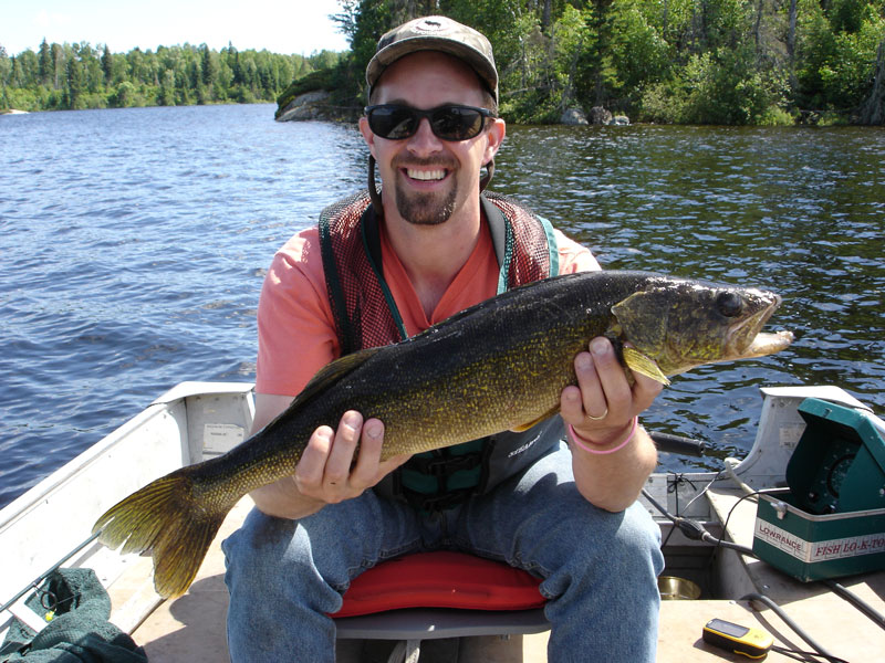 Canada Summer Walleye Fishing