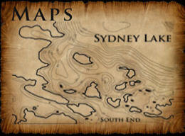 Sydney Lake fishing Maps - Depth Map, Regional Maps