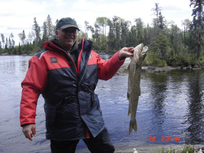 "Pete Kosmar 33"" Lake Trout"